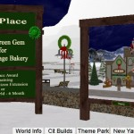 Third Place in Holiday Village Contest